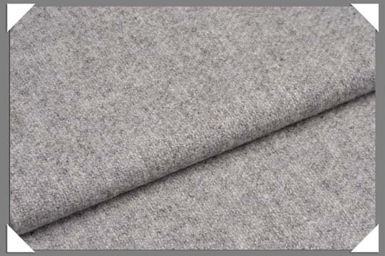 Light Grey Flannel Fabric