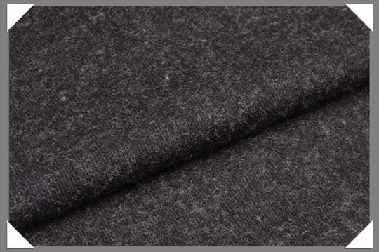 Dark Grey Flannel Fabric