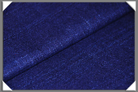 Navy Matka Fabric