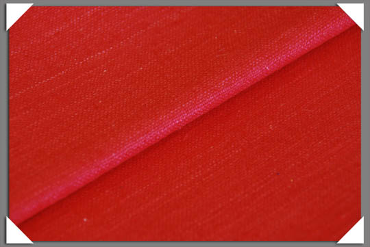 Vermillion Matka Fabric
