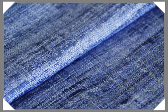 Blue Matka Fabric