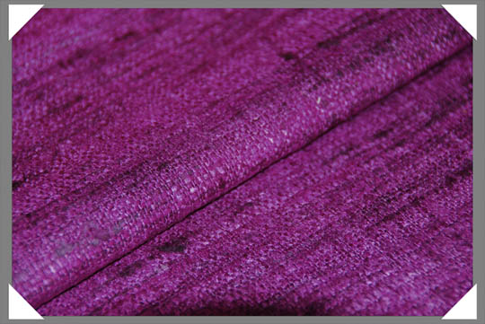 Plum Matka Fabric