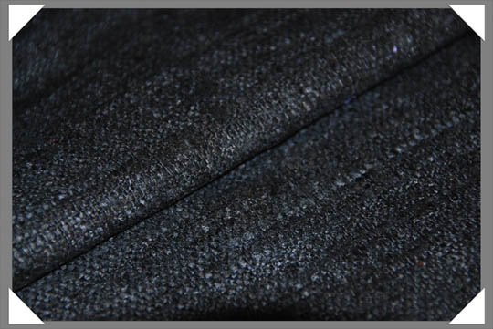 Black Matka Fabric
