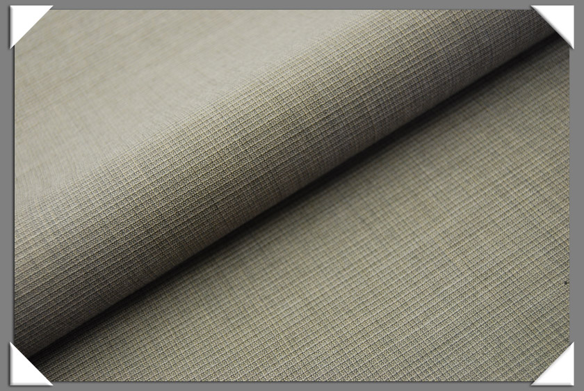 Grey Wool Suiting Fabric