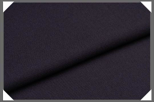 Navy Gabardine Fabric - Click Image to Close