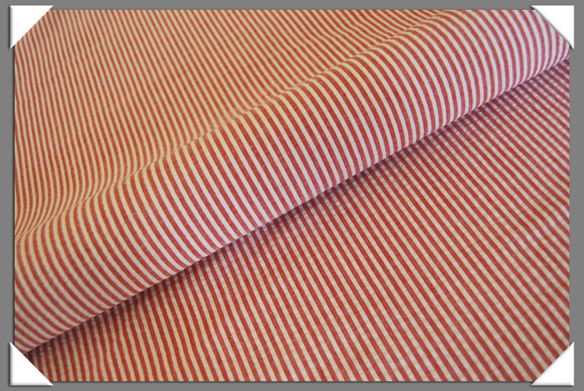 Red Seersucker Fabric