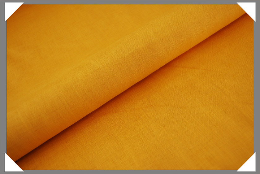 Yellow Linen Fabric