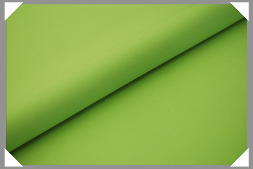 Lime Green Gabardine Fabric
