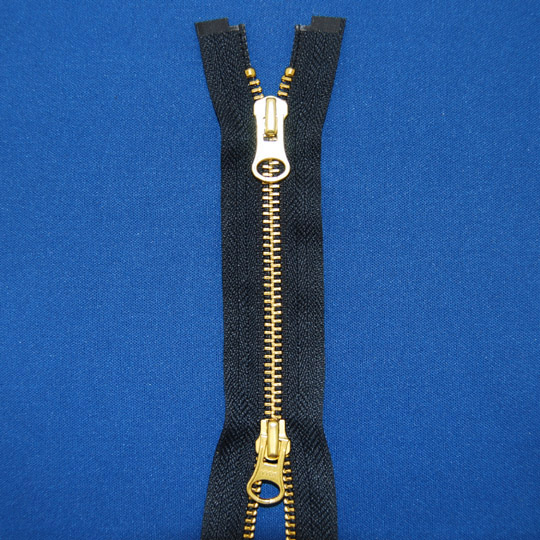 #5 Brass 2-Way Separating Zipper (Jackets)