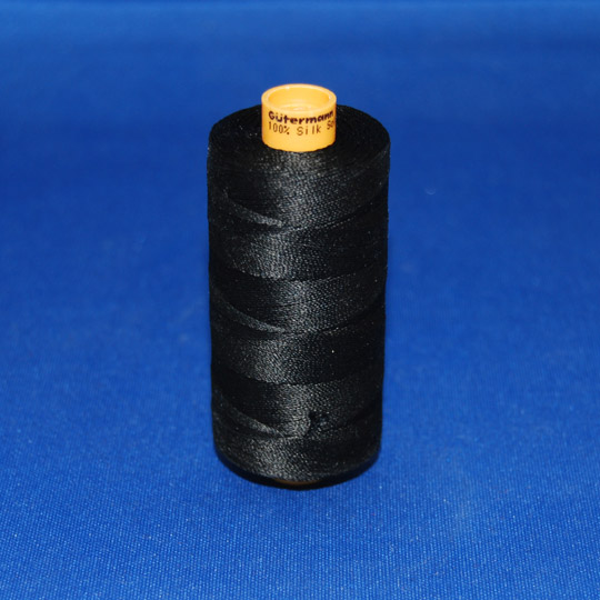 100% Silk Button Hole Thread - Gutermann