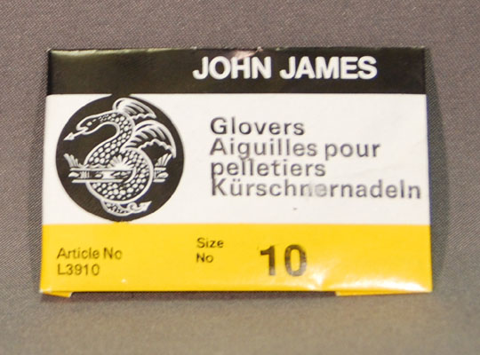 Glover Leather Hand Needles