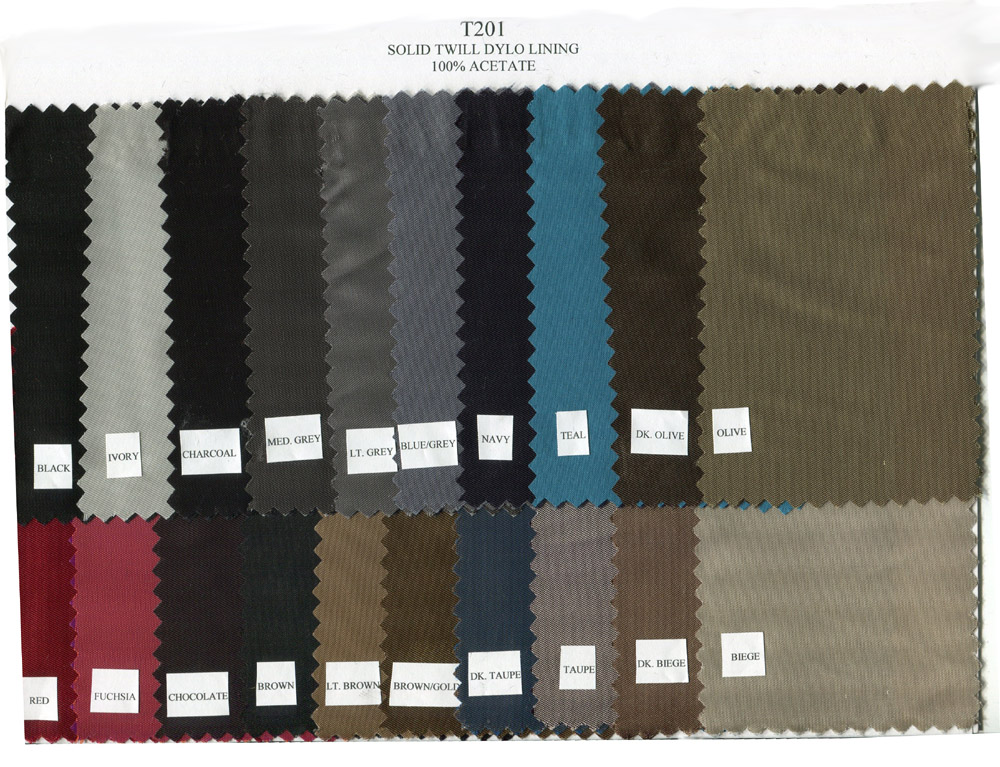 Dylo Twill Lining - Click Image to Close